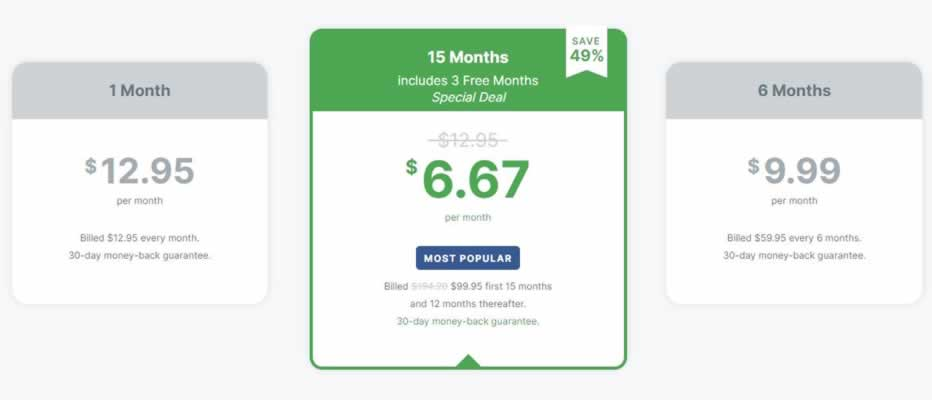 latest subscription prices for ExpressVPN