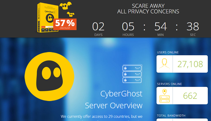 Cyber Ghost VPN review
