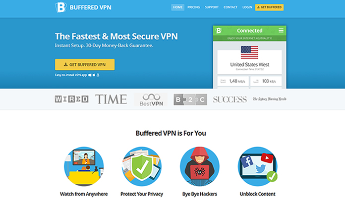 Buffered VPN Review