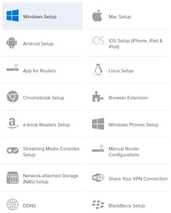 ExpressVPN - setup guides