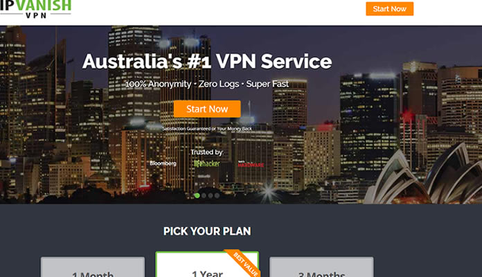 IPVanish - Australia