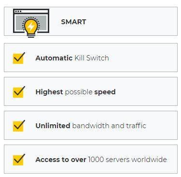 CyberGhost VPN - features