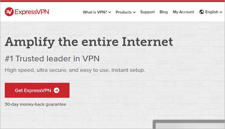ExpressVPN - homepage