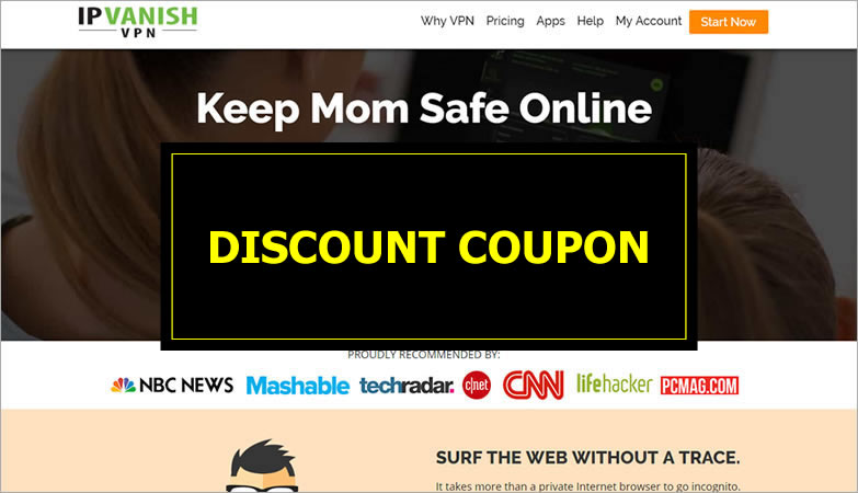 IPVanish - discount coupon