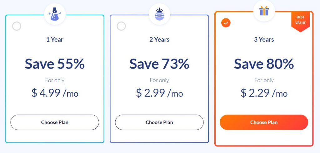 SaferVPN - plans and prices - December 2018
