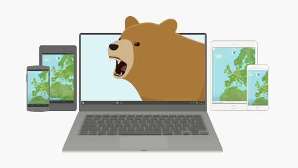 TunnelBear VPN - data encryption